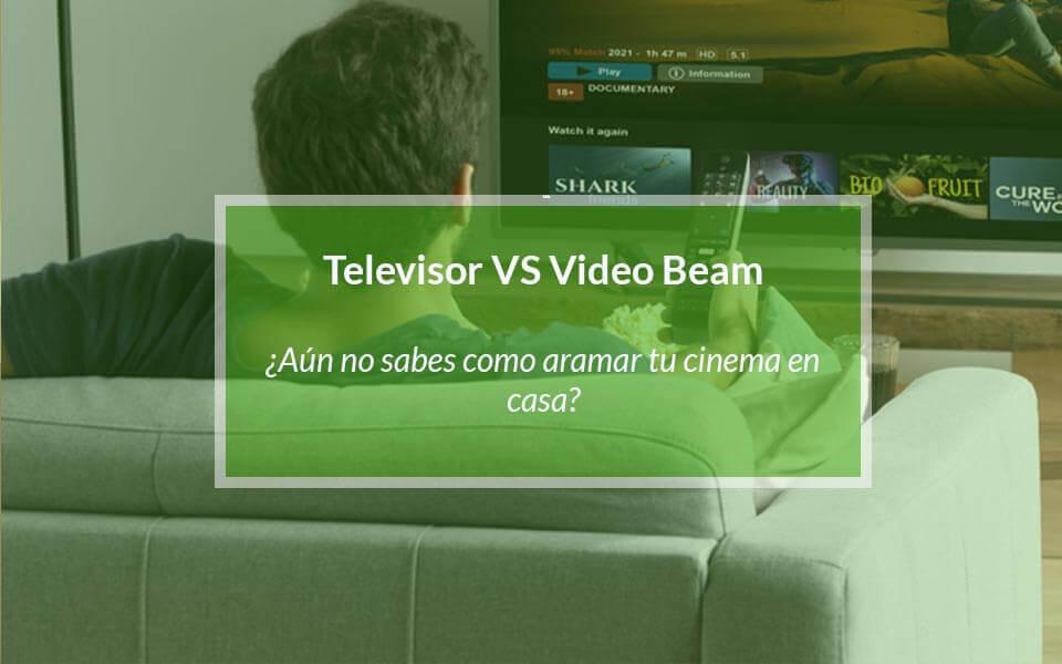 ¿Qué es mejor entre un televisor o un proyector?