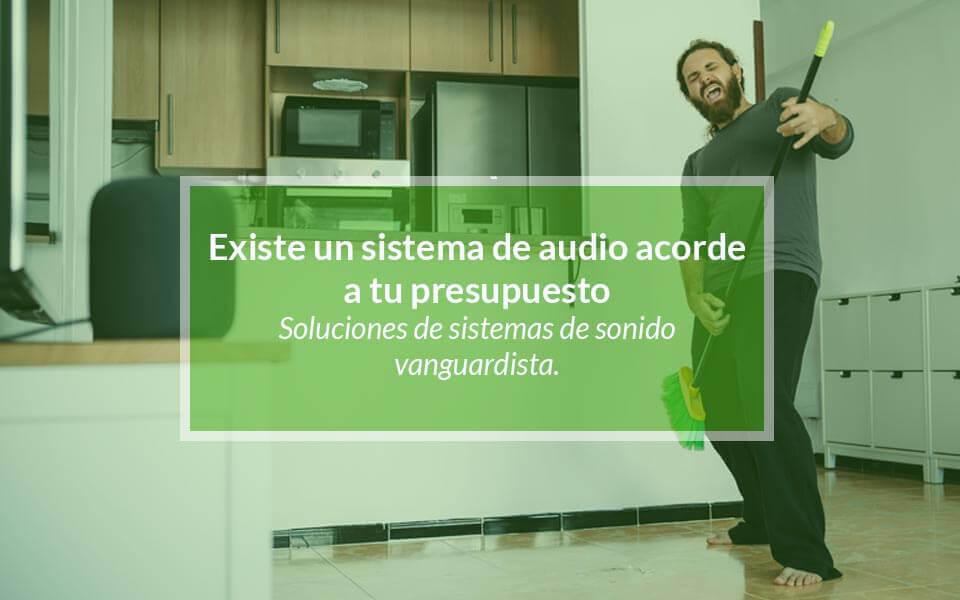 ¿Por qué tener un sistema de sonido para el hogar?