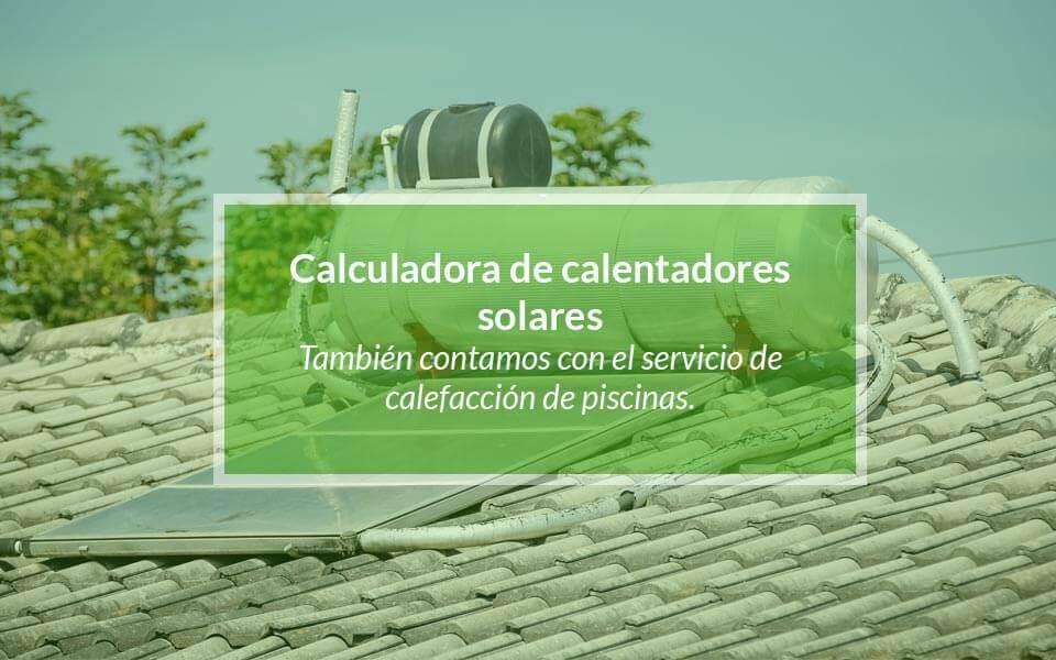 Calentador solar para duchas